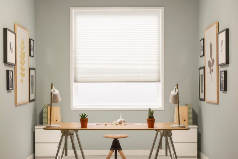 Horizontal Pleated Blinds Los Angeles